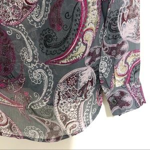 Kut from the Kloth Tops - Kut Koth paisley print cross front top multicolor